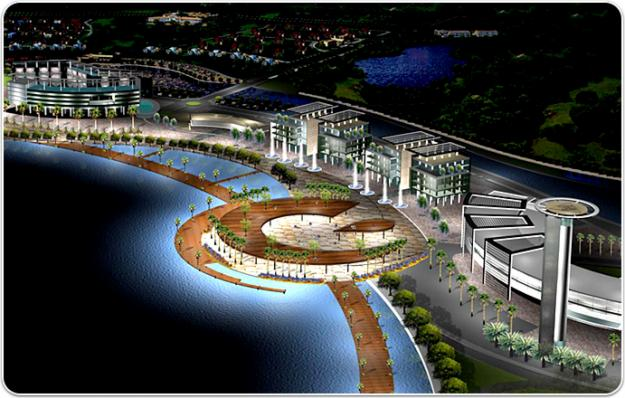 Being projected as future dream city Dholera SIR area off