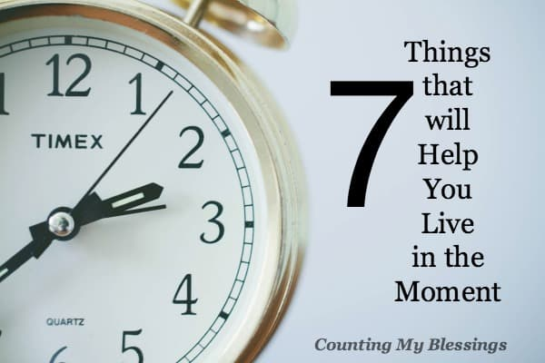 Have you turned multitasking into an art form? Are you tired and ready for a change? Enjoy contentment - live in the moment.