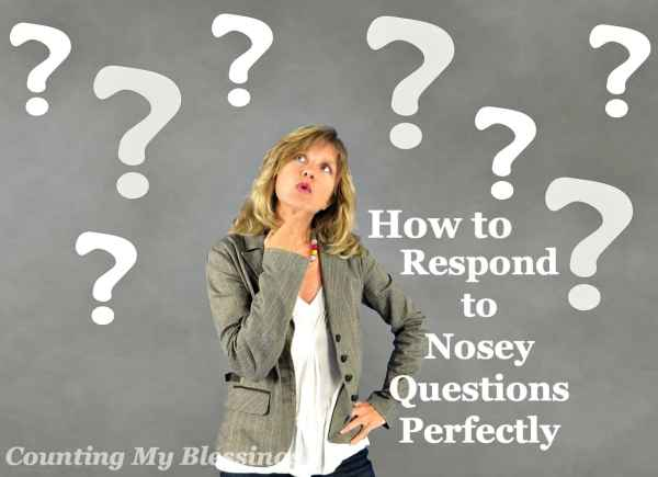 Nosey personal questions... They can make you break out in a cold sweat, avoid new situations, and look for the closest exit