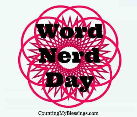Word Nerd Day