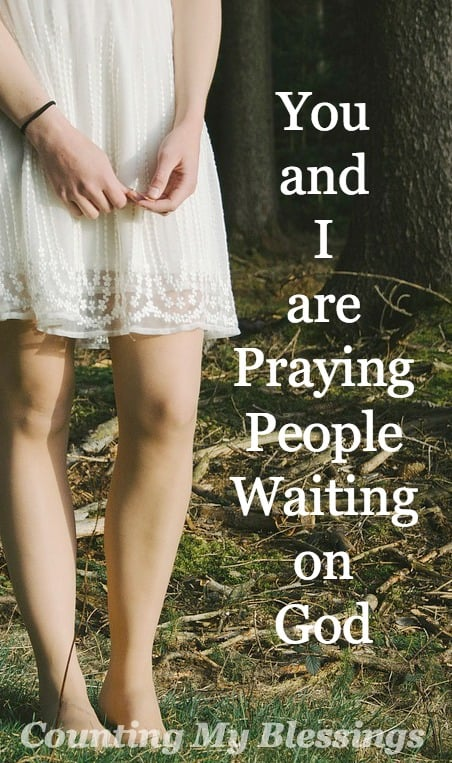 Life is hard. Broken hearts. Broken relationships. But... We're not alone. We are followers of Jesus. Praying people waiting on God.