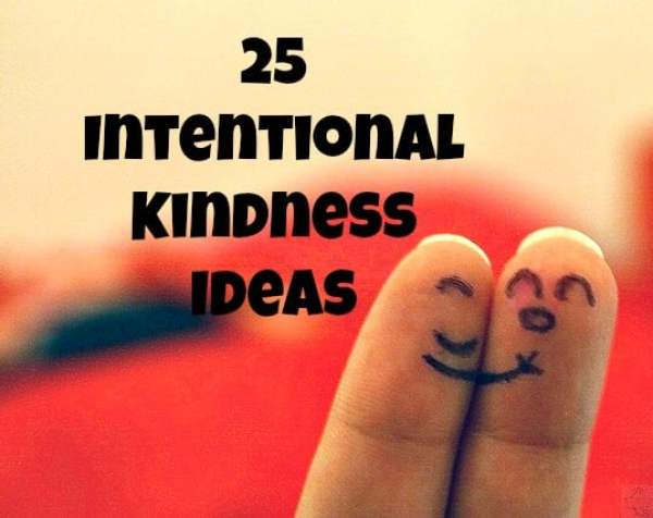 Looking for a way to enjoy life more? Try intentional kindness. It will bless you so much you could almost do it for selfish reasons...
