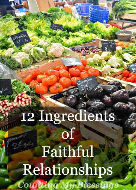 What makes for faithful relationships Do you know the important ingredients A little of this and a lot of that. These are important...
