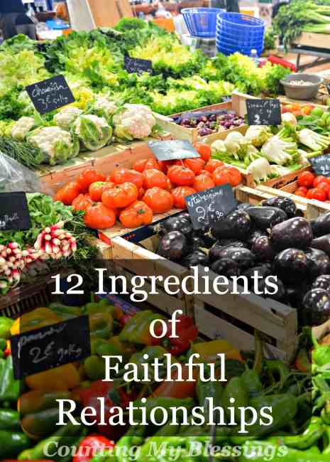 What makes for faithful relationships? Do you know the important ingredients? A little of this and a lot of that. These are important...