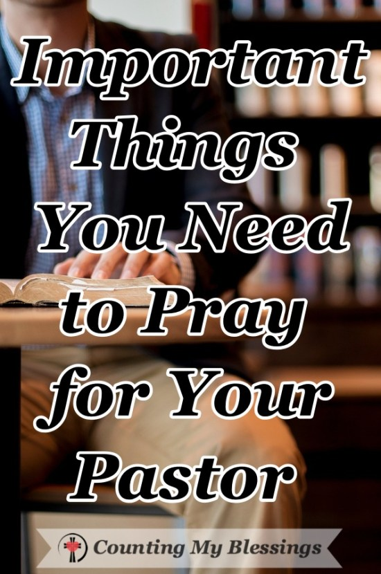 Living in the clergy fishbowl is hard. Here is a list of things to pray for your pastor that will positively bless them and their family. #Pray #Bible #Faith