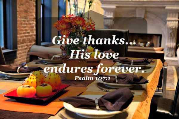 Thanking God by noticing Him in the little things and praising Him in and with everything.