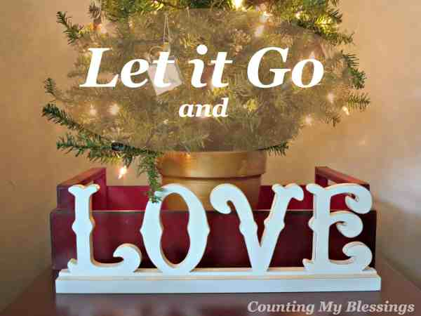 Don't wait - it's time to let go of the things that keep you from enjoying your blessings and celebrating with joy.