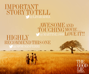 A movie review of The Good Lie - starring Reese Witherspoon.