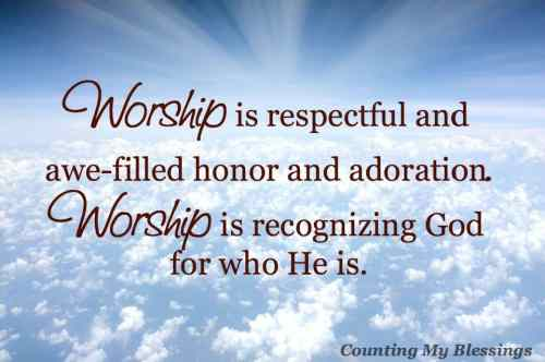 What does it mean to worship God is Spirit and Truth Worship with all your heart, mind, soul, and strength. Read this to learn more...