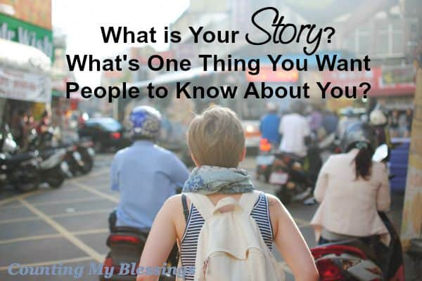 What is your story What makes you laugh What makes you laugh What's one thing you'd like people to know about you