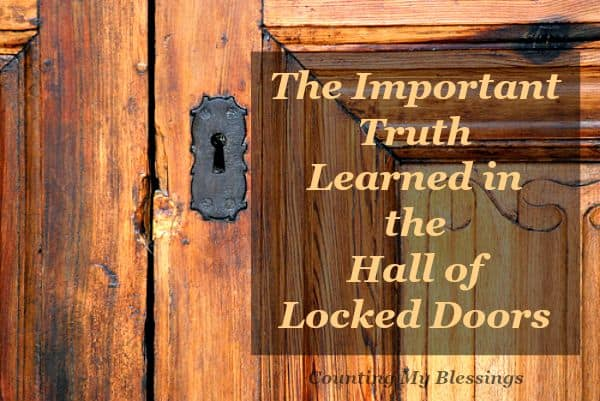 The important truth I learned from a dream. What do you have locked away behind locked doors You might be surprised...