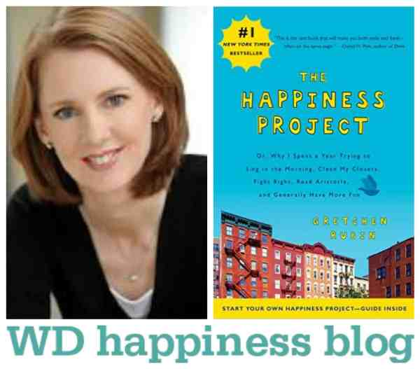The Happiness Project inspired me to undertake a whole new project...