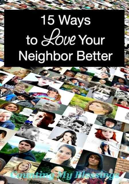 "It's so easy to hide behind our keyboards and screens. How are you and I to ""love your neighbor like your love yourself?"" Here are thoughts to get started."