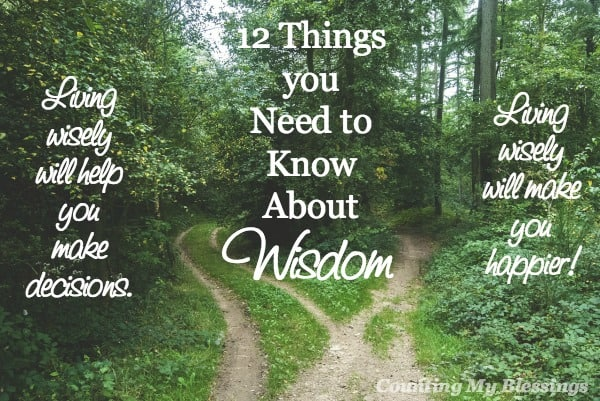 Everyone wants to be happy. Many know wisdom can make a difference. But how? Important ways wisdom will bless your life and make you happy.