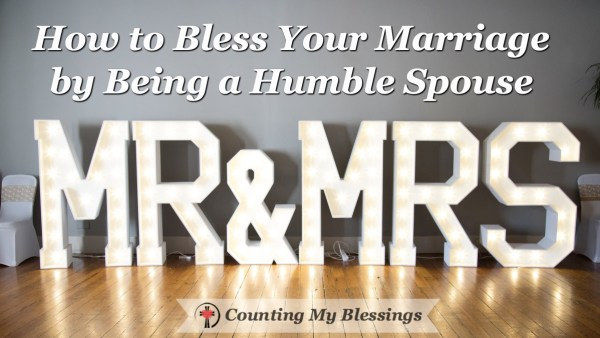 Are you a humble spouse? Questions to ask to help you know. No one is humble consistently but keep trying it will bless your marriage.