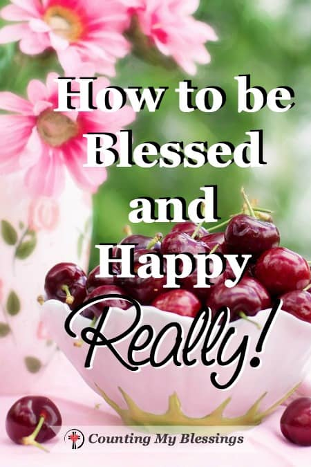 Are you blessed and happy? Do you want to be? If you're like me, you're thinking . . . doesn't everybody? Looking around it's easy to draw the conclusion that happiness is the result of our circumstances and desires aligning. But Jesus answer to finding happiness is very different.