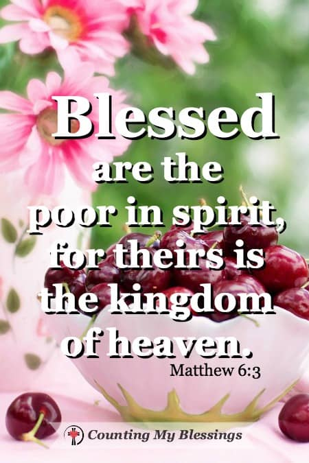 Matthew 6:3 Are you blessed and happy? Do you want to be? Doesn't everybody? Jesus answer to being blessed and happy is very different yours and mine.