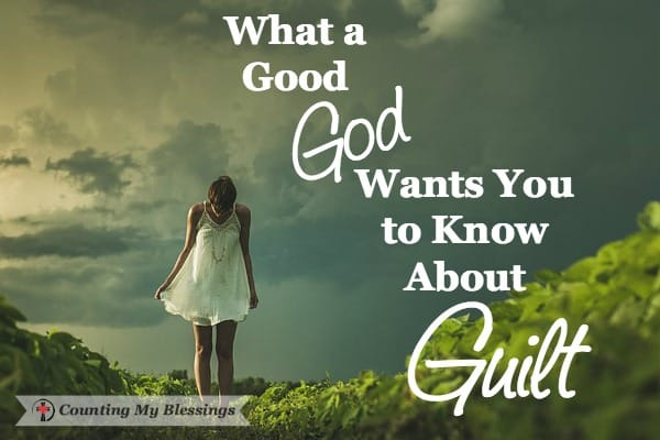 God has removed your guilt label and calls you His own!