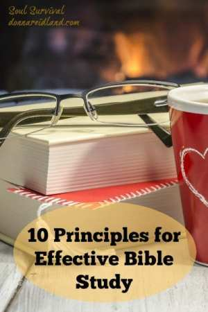 10 Principles for Effective Bible Study