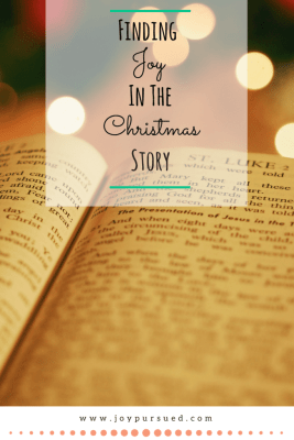 Finding Joy in the Christmas Story by Kira Bridges