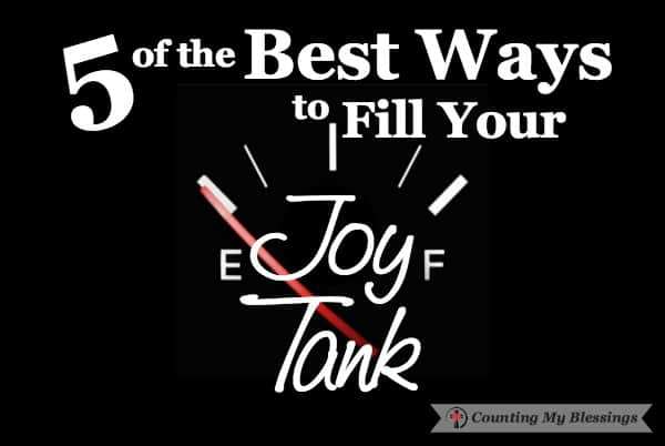 It's the most wonderful time of the year but in many households, joy-filled wonderful is not filling the air. For too many their joy tank is nearly empty.