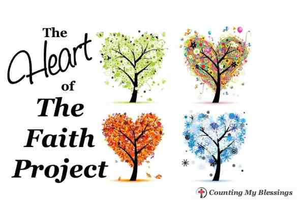The top five things I learned from The Faith Project this year. . . things I found consistent as I studied and lived out each word of the month.
