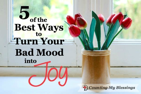 We're talking about the plain and simple bad mood that interferes with attitudes, productivity, and relationships. Here are 5 ways to improve your mood.