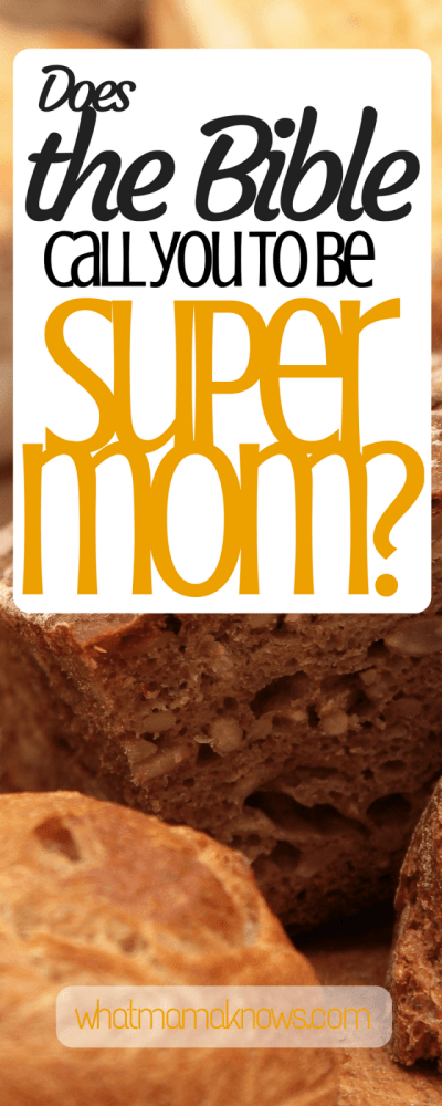 The Real Reason I'm Not Supermom by Elizabeth