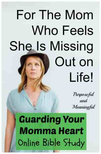 For the Mom Who Feels She is Missing Out on Life by Ifeoma Samuel