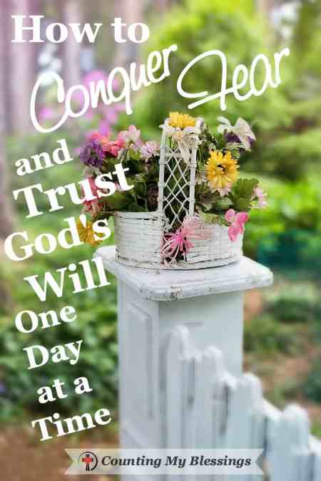How to Conquer Fear and Trust God's Will One Day at a Time - Deb Wolf