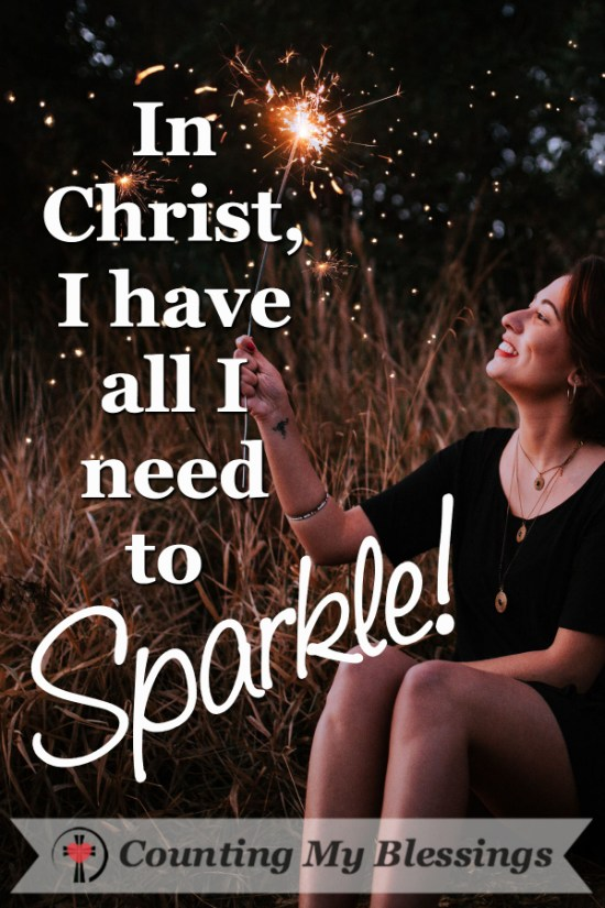 How to Sparkle When Life Distracts You by Deb Wolf @ Counting My Blessings