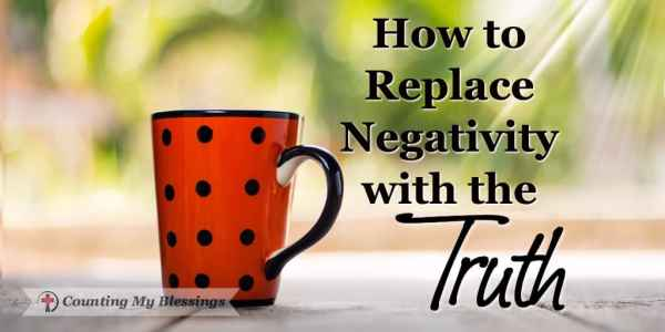 Negative attitudes affect our thoughts, ruin our days, and hurt our relationships. But maybe there's a better way of replacing negativity with the truth.