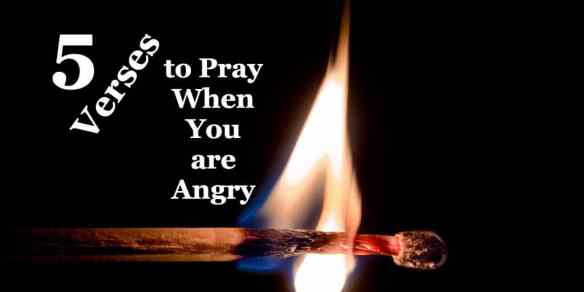 The Bible has a lot to say about how you and I speak and act when we're angry and emotion begins to boil over. So, I'm praying...