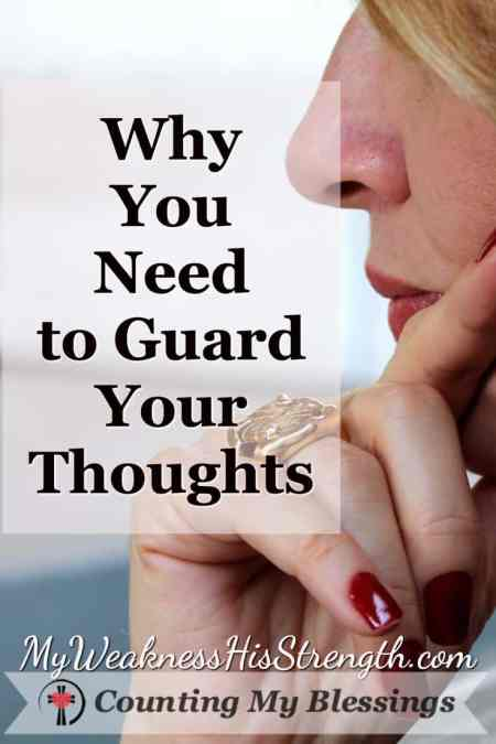 Where do your thoughts go when you have a free moment to think? Did you know - what consumes your thoughts, controls your life? Here's help...