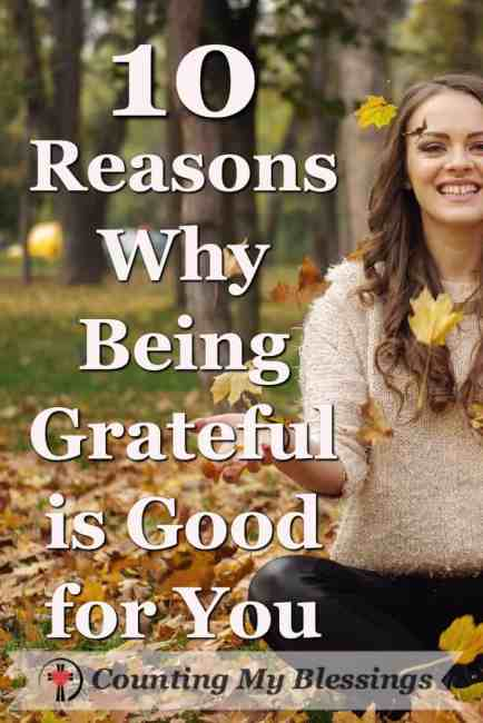 Being grateful is so good for you ... you might want to consider making gratitude a priority purely for selfish reasons! Seriously, it's that beneficial!