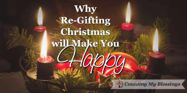 Who will you Re-Gift Christmas to this week? Plenty of time yet. You don't need to invite the whole neighborhood, but you might. #Hospitality