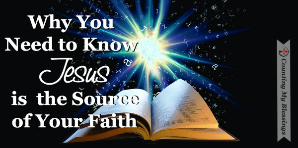 """Who or what is worthy of my confidence and trust?"" It's not enough to just know you blieve. You need to know the what or who - the source of your #faith. #Jesus #Believe"