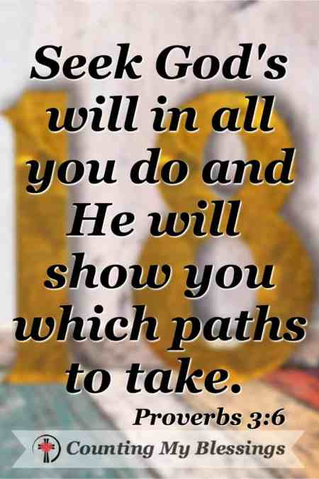 Do you want to be part of a plan to seek God's will? #2018 #Seek #God'sWill