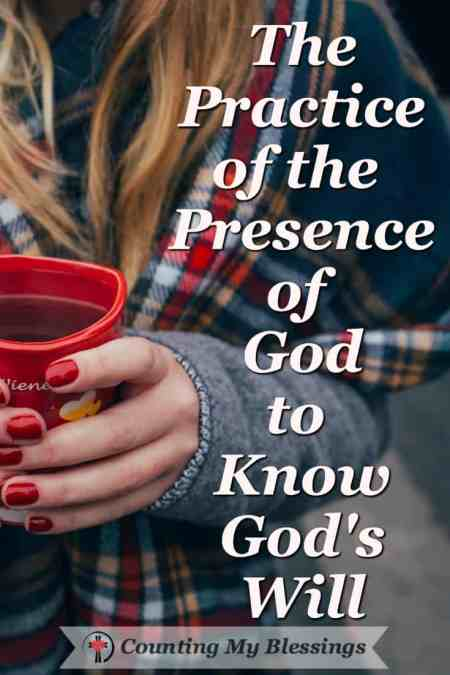 How to pray without ceasing for the practice of the presence of God. #BlessingBloggers #CountingMyBlessings #God's Will #Seek