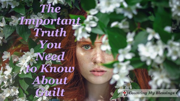 Do you struggle with guilt? Does shame haunt you? You can live free of #guilt with this important #truth. #Hope #Blessing