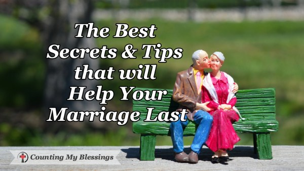 What is the best marriage advice you've ever given or received? How to help your marriage last!