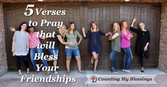 Friendships can be hard and complicated but the Bible gives us verses to pray and advice that will help.