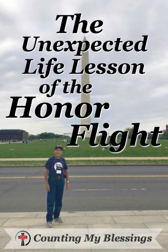 My dad went on an Honor Flight and came home with a powerful life lesson! #CollierHonorFlight
