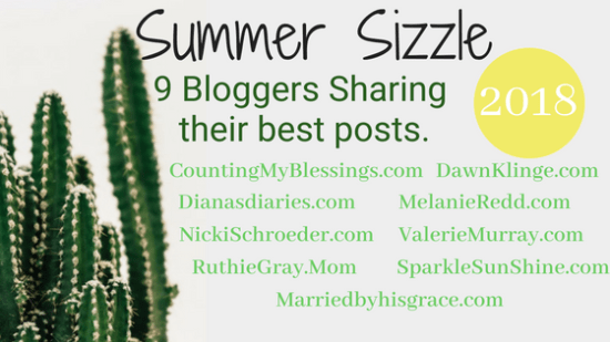 Summer Sizzle Blog Hop Series - Some of your favorite bloggers share their most popular posts.