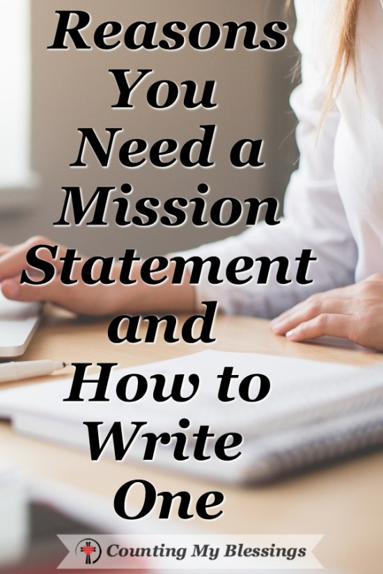 Do you know your purpose? Do you apply it to your time management? You need a #MissionStatement - here's help. #Planning #BlessingBloggers #TimeManagement