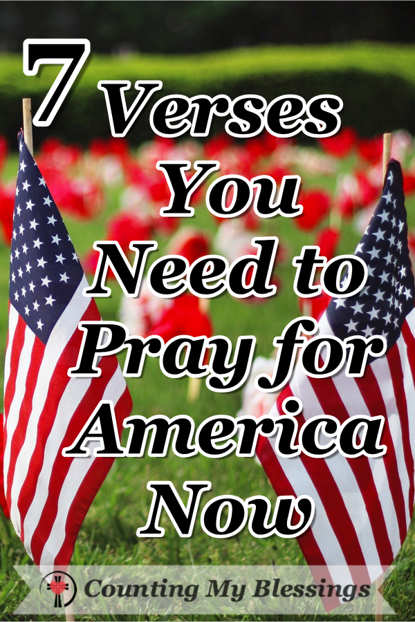 More than ever our nation needs to turn to God in prayer. I would love for you to join me as I turn to God's Word and Pray for America. #America #4thofJuly #Summer #Prayer #Faith #CountingMyBlessings #WWGGG
