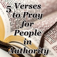 5 Verses You Need to Pray for People in Authority