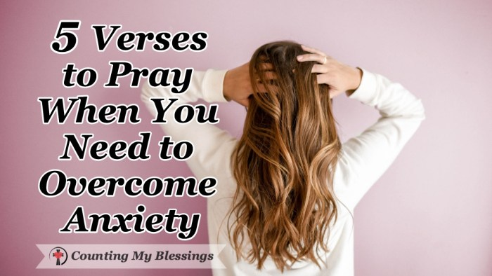 There will always be plenty of things to be anxious about but it's a miserable way to live. So I'm praying 5 verses from the Bible to overcome anxiety. #BibleStudy #Prayer #MentalHealth #WordofGod #CountingMyBlessings