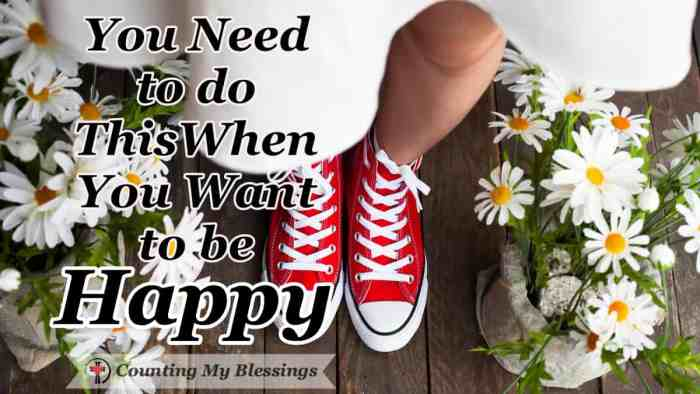 We all want to be happy which is defined as well-being or contentment. If that's true shouldn't we be better at it? #BibleStudy #Faith #HappyLife #CountingMyBlessings