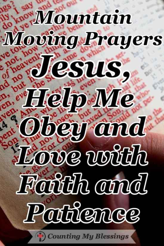 The Lord spent the Tuesday of Holy Week teaching important truths, so we're praying Jesus, help me obey and love... #Faith #BibleStudy #TrustJesus #CountingMyBlessings